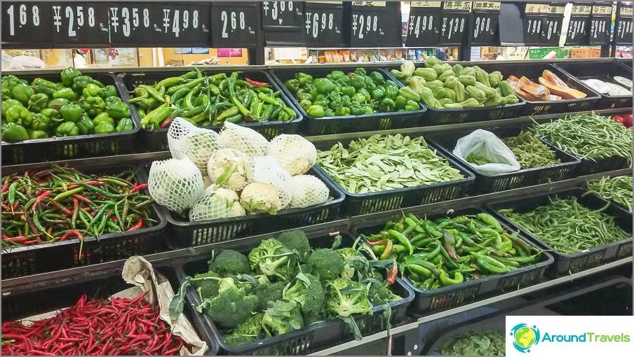 Kaikenlaisia vihanneksia