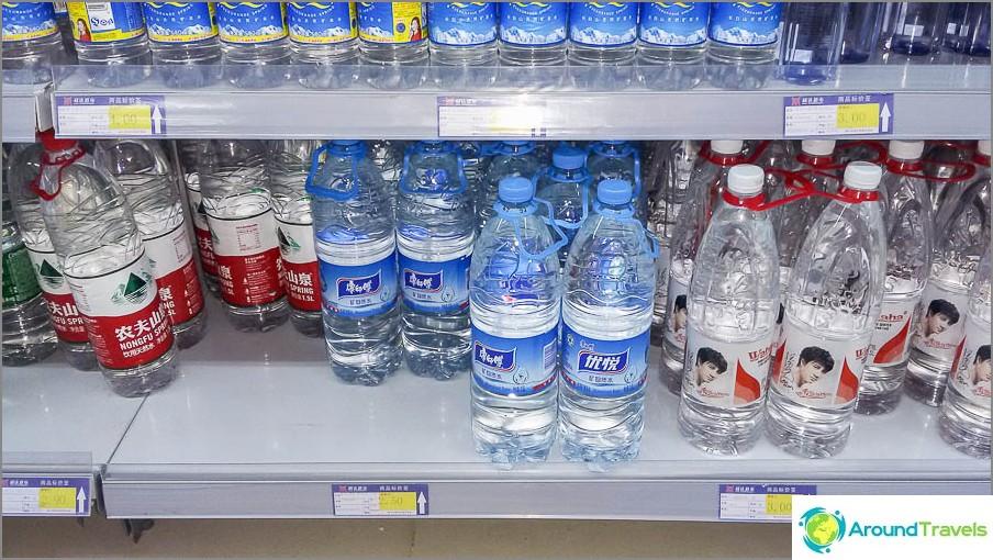 Meillä kului 1,5 litraa, koska viisi litraa on melkein kalliimpaa