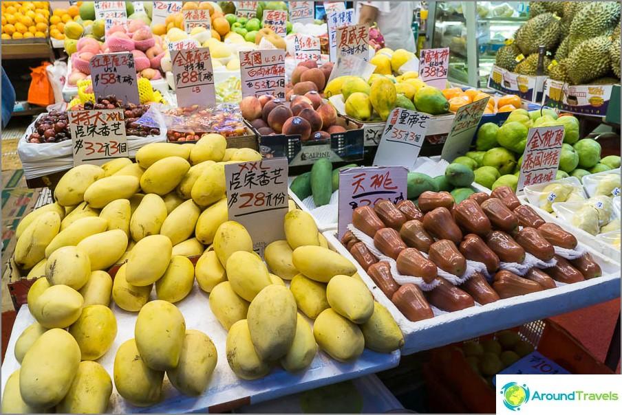 Mango, hinta 3 asiat