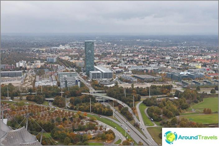 Moderni Münchenin kaupunki