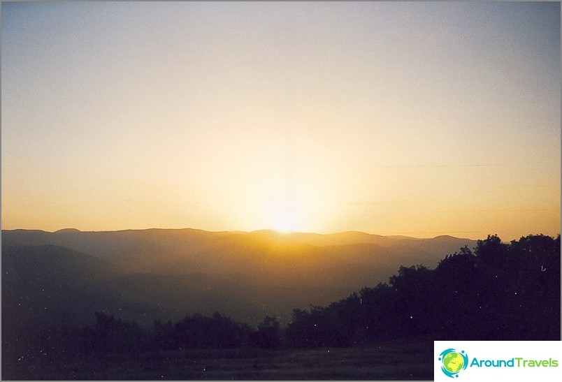Dawn Nexisin vuorella
