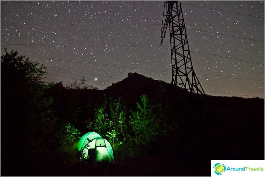 Mount Turkki. ISO1600, 11 mm, f2,8, 30 s