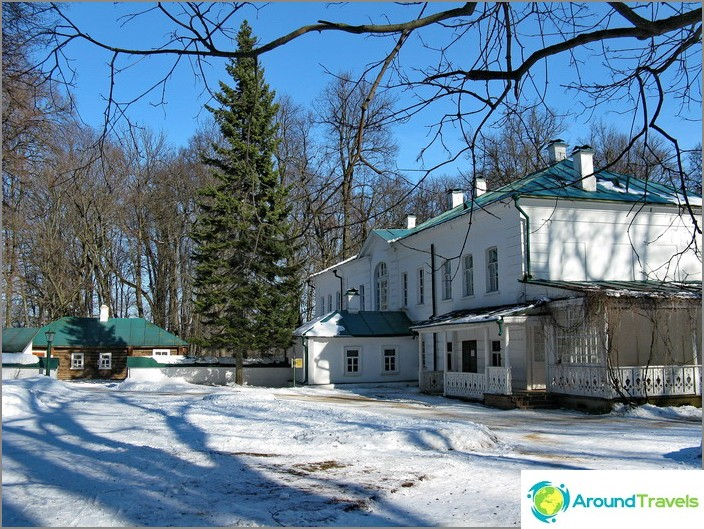Музей на Ясна поляна. Къщата на Толстой