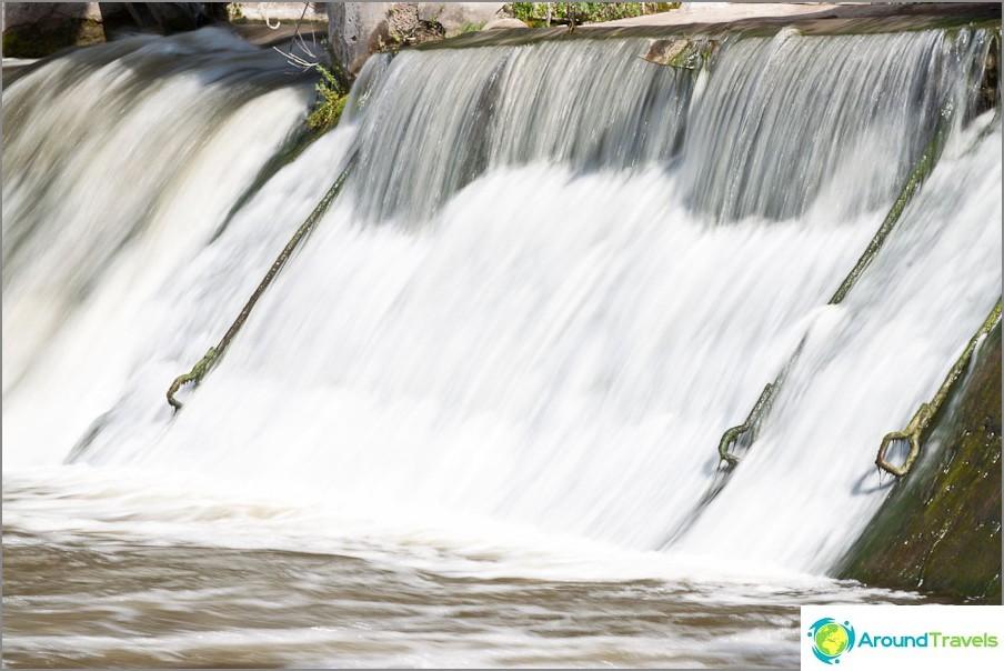 Pitkä altistuminen vedenkoukut