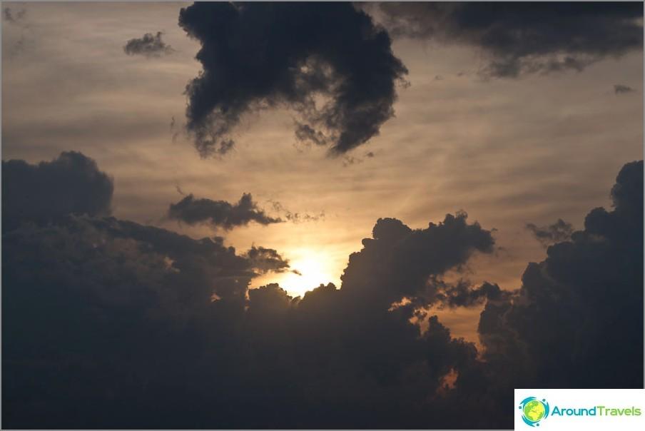 Aurinko pilvissä