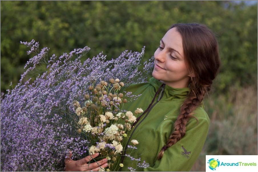 Букет от диви цветя
