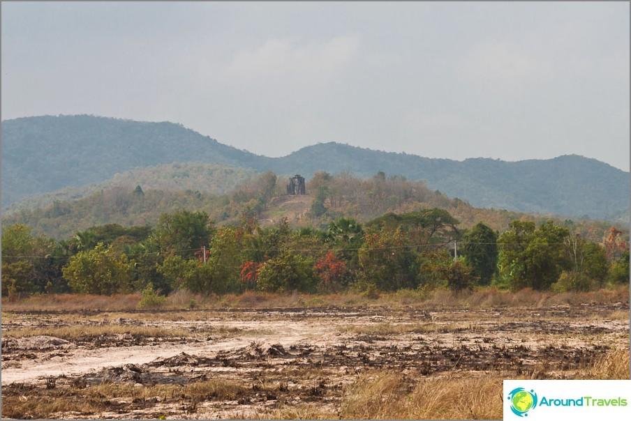 Wat Saphan Hin vuorella
