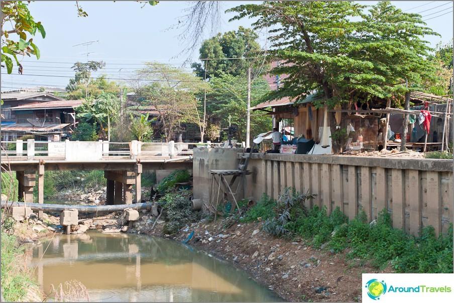 Sukhothai City - Slum