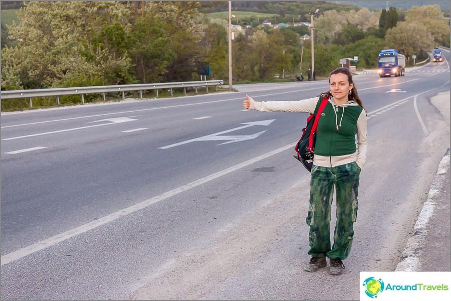 Автостоп някъде в Краснодарския край