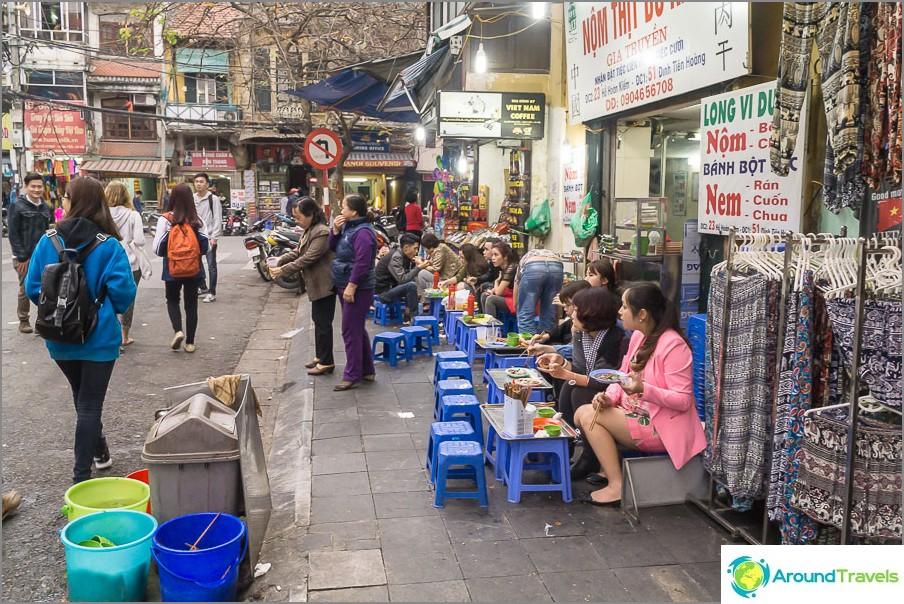 Katukahvila Vietnamissa, Haina