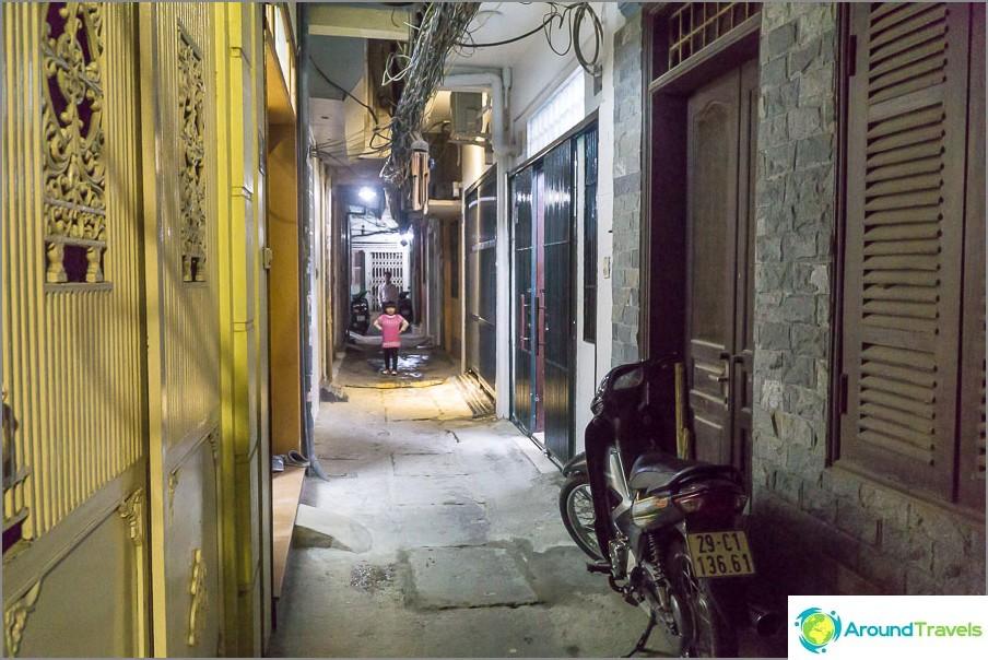 Tässä on toinen Hanoin keskusta