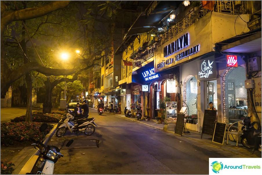 Vain katu Hanoissa