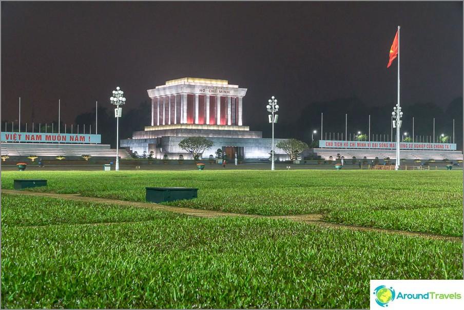Ho Chi Minhin kaupungin mausoleumi Hanoissa