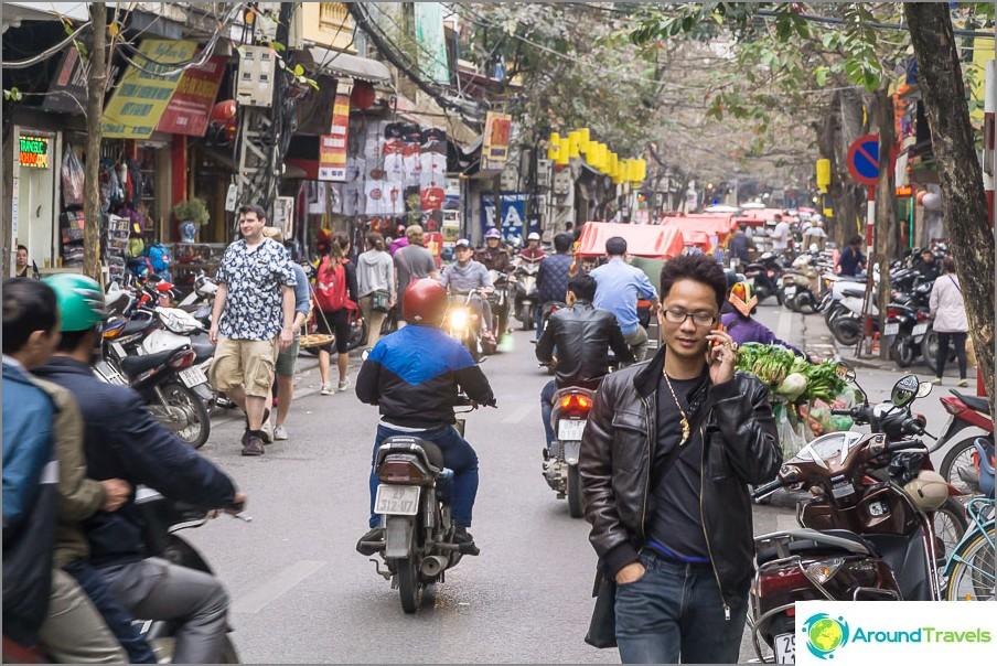 Suurinta osaa kaduista on kuljettava liikenteessä