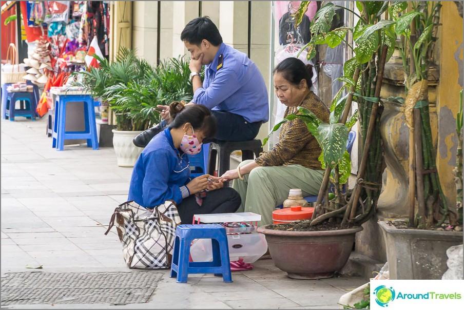 Hanoi-manikyyri