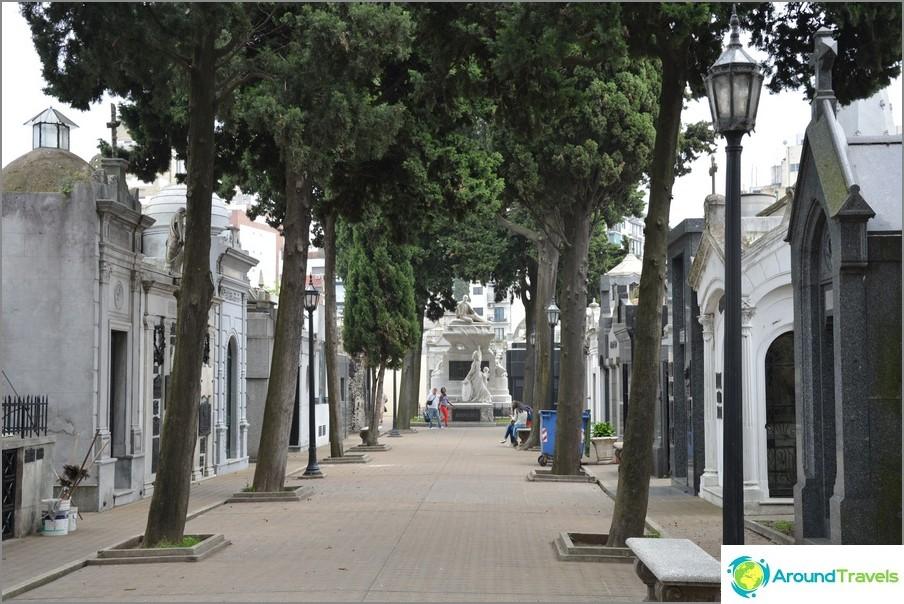 Recoleta-hautausmaa Buenos Airesissa