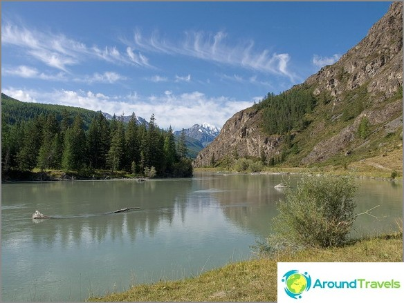 Планински Алтай. Река Чуя.