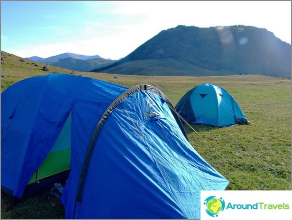 Планински Алтай. Туристическа екскурзия.