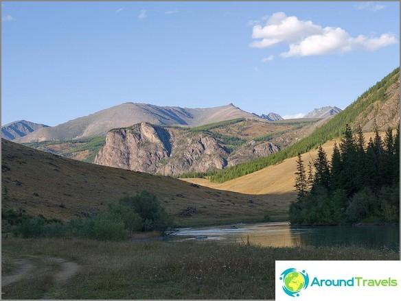 планини на Алтай. снимка Борис Волчек.
