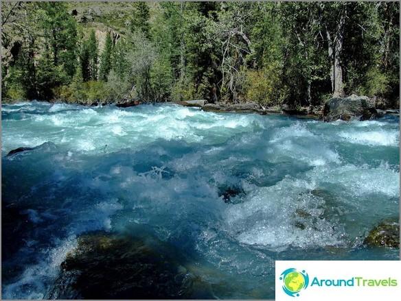 Планински Алтай. река Мааш.