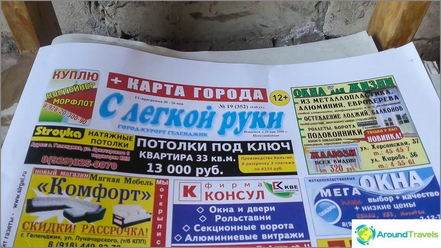 Sanomalehti kevyellä kädellä
