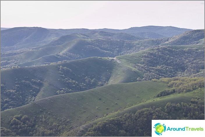 Планини на Геленджик.