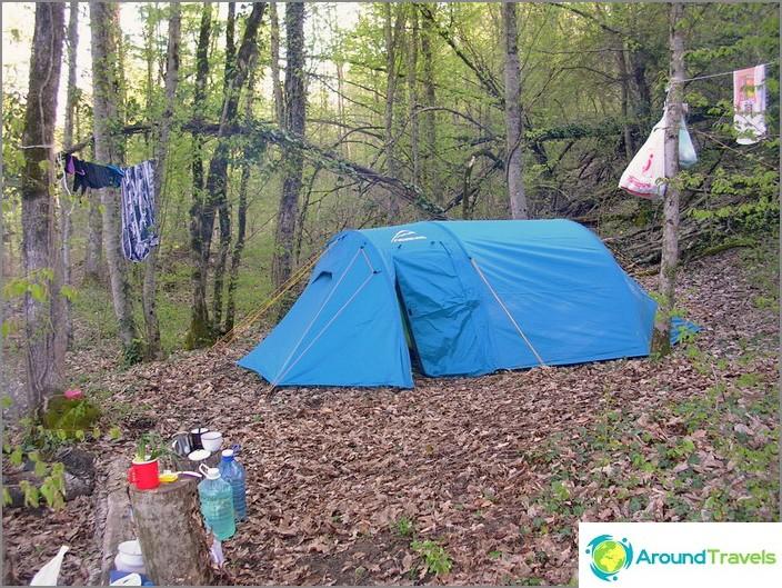 Възраждане на село. Camp.