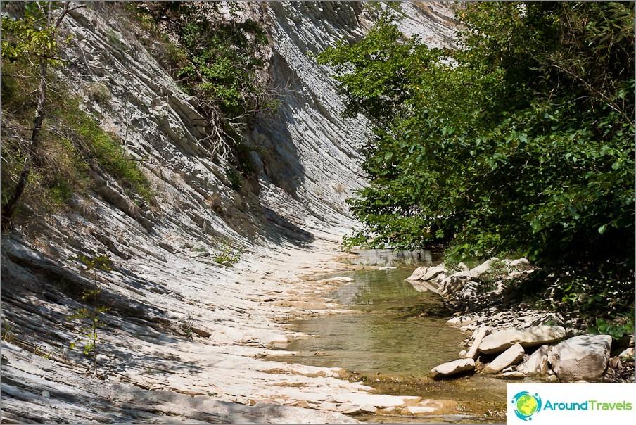 Река Жанет след Афродита
