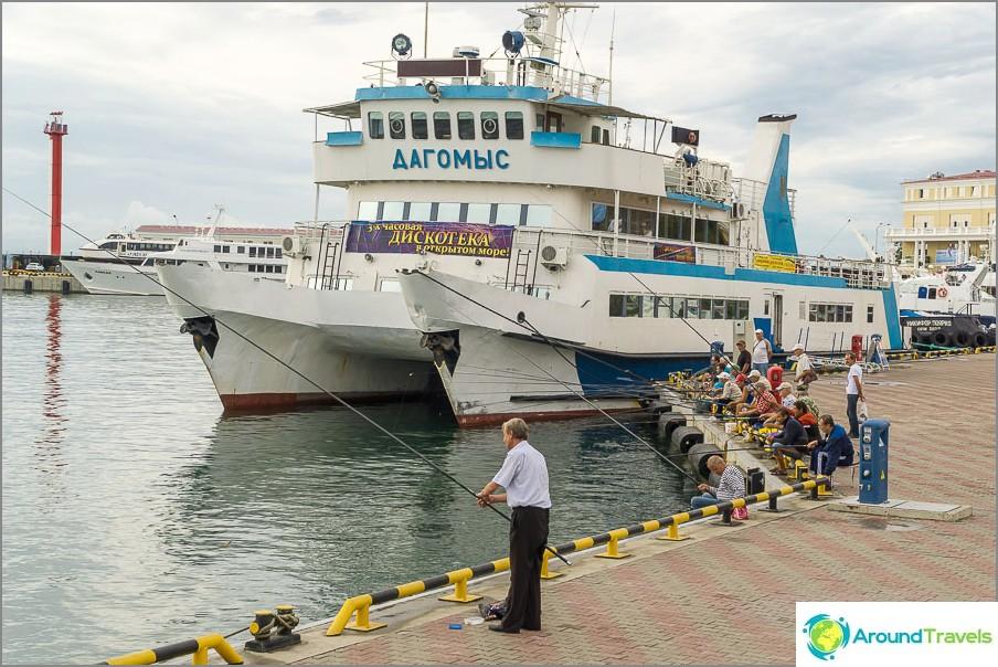 Инвестирайте рибари в близост до морското пристанище