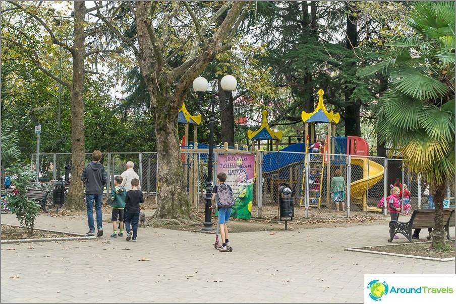 Изглежда най-готината детска площадка в града