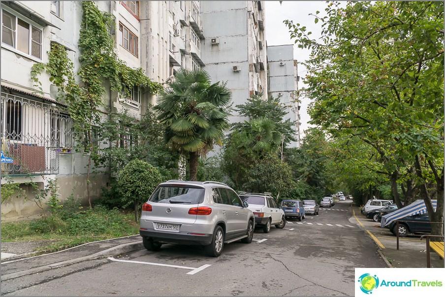 В района на Макаренко паркирането е много по-добро
