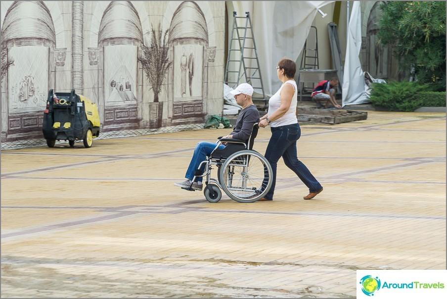 Хората в инвалидни колички се срещат в Сочи