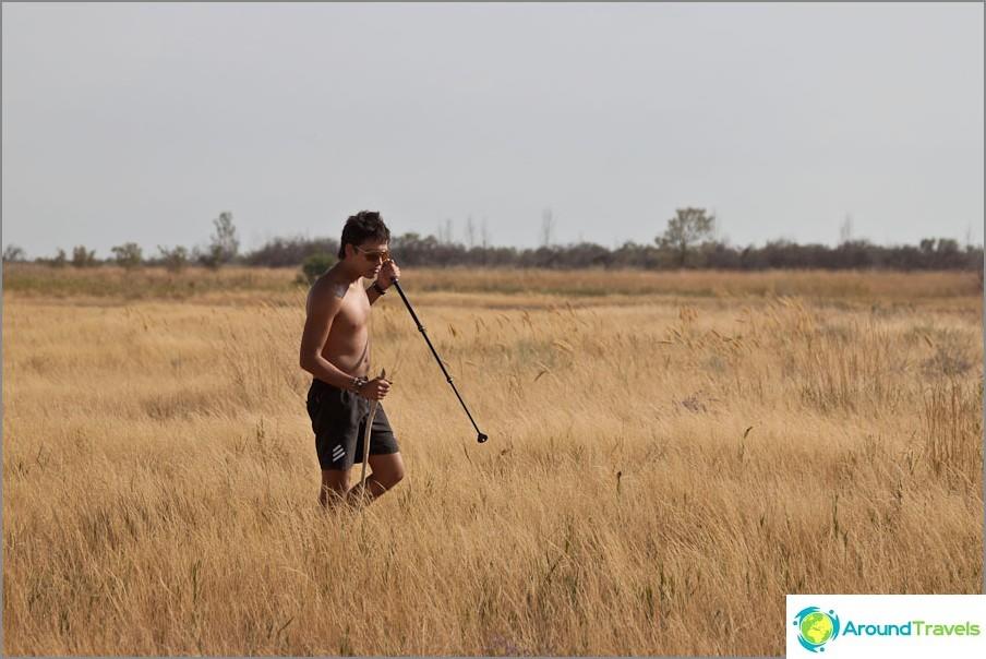 Аборигените ловуват гербове