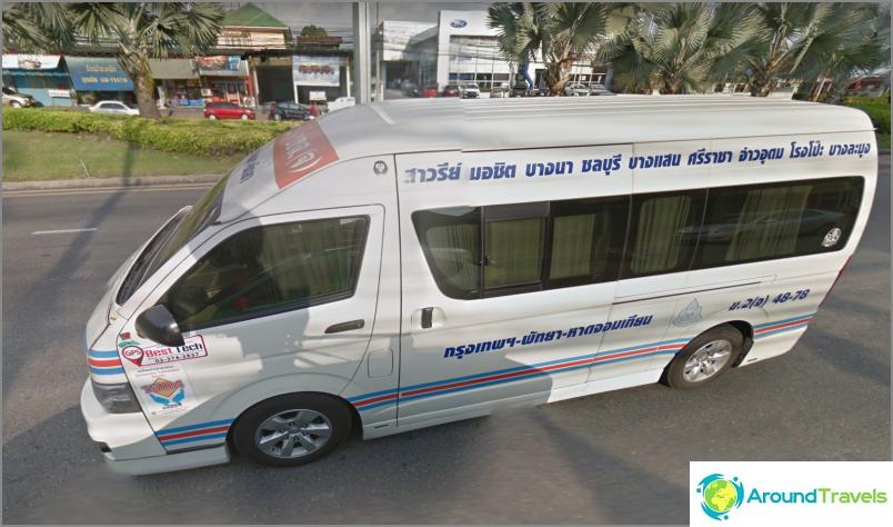 Minibussit paikallisille