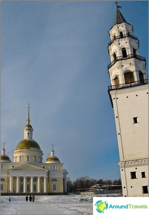 Nevyanskin kalteva torni