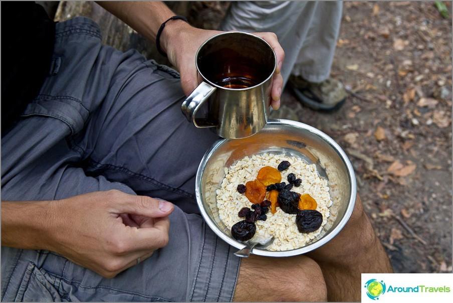 Turisti aamiainen