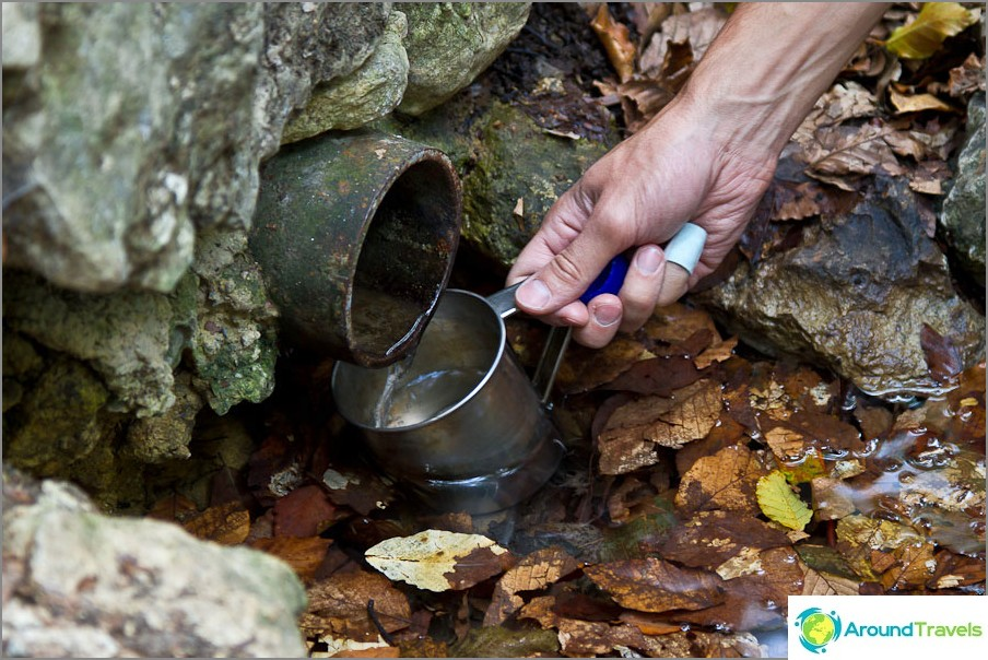 Vesi on arvokkain asia matkalla ja myös elämässä