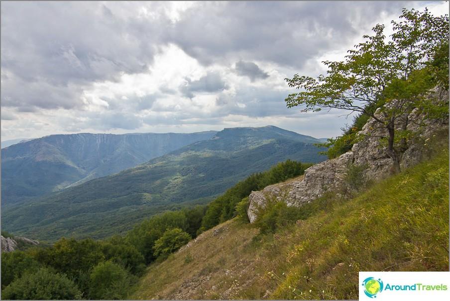 Kiivetämme Takya-Tepen vuorelle
