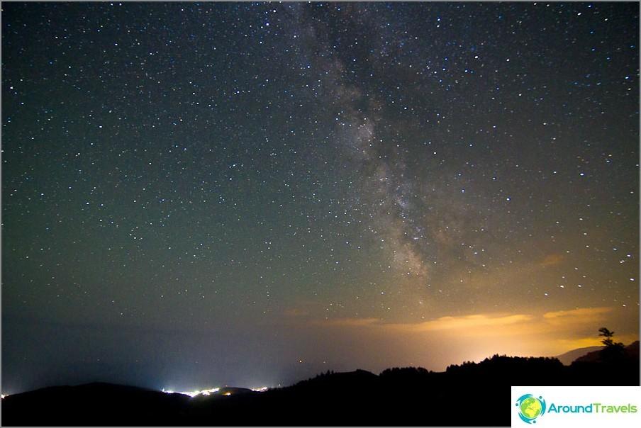 Ja jälleen Krimin tähtitaivas
