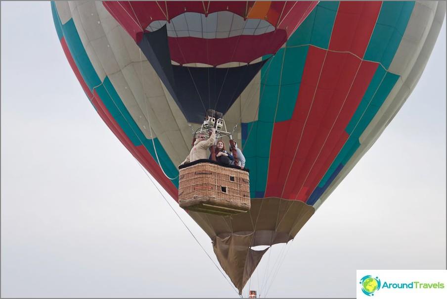 Ensimmäiset ilmapallot ovat jo ilmassa