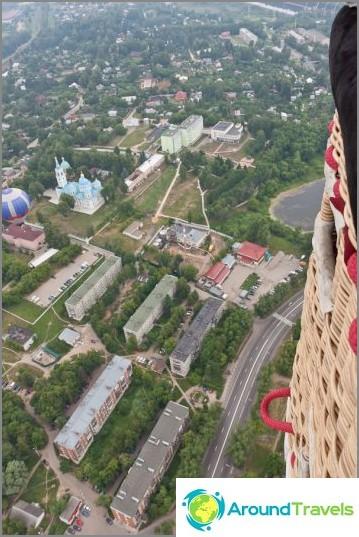 Dmitrovin kaupunki on meidän alapuolella