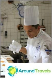 Roma-kokit Le Cordon Bleu -luokassa