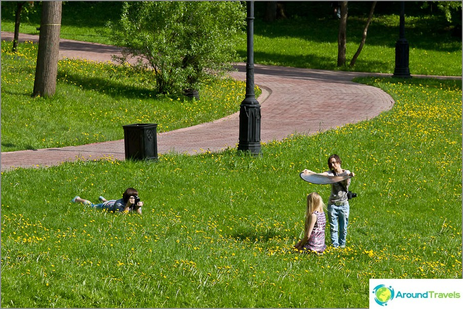 Valokuvasarja Tsaritsynossa
