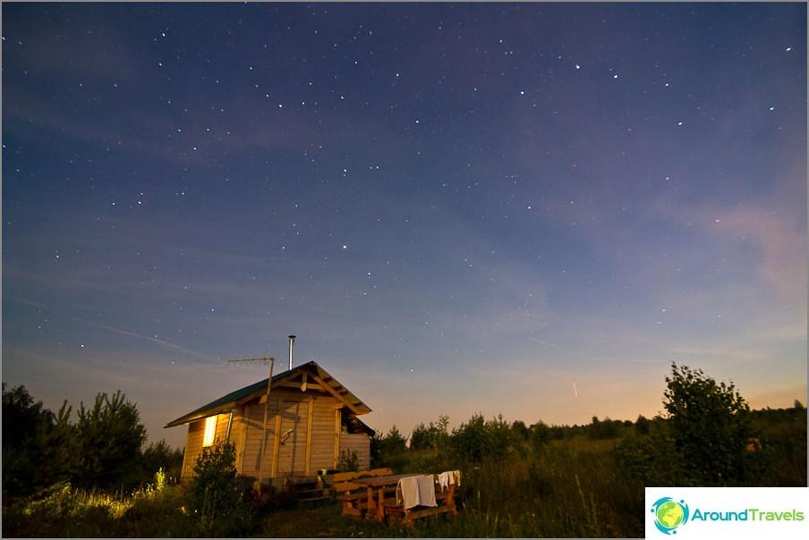 Моите проби от снимане на нощното небе
