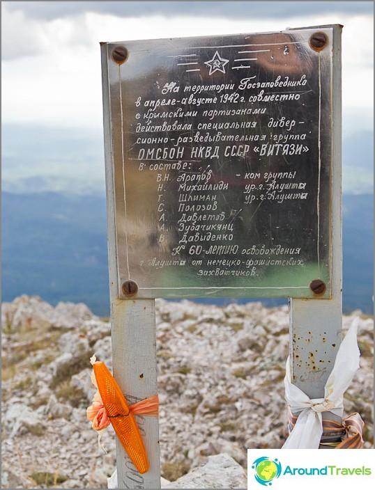 Toinen merkki Vityazi-ryhmän päällä