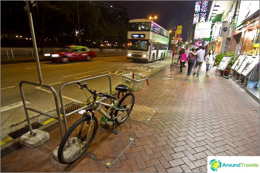 Hongkongin kadut