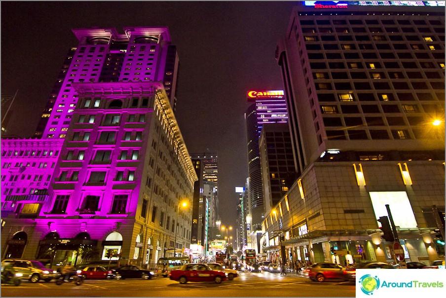 Hongkongin tärkein katu - Nathan Road