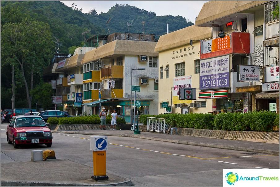 Hongkongissa on myös sellaisia taloja