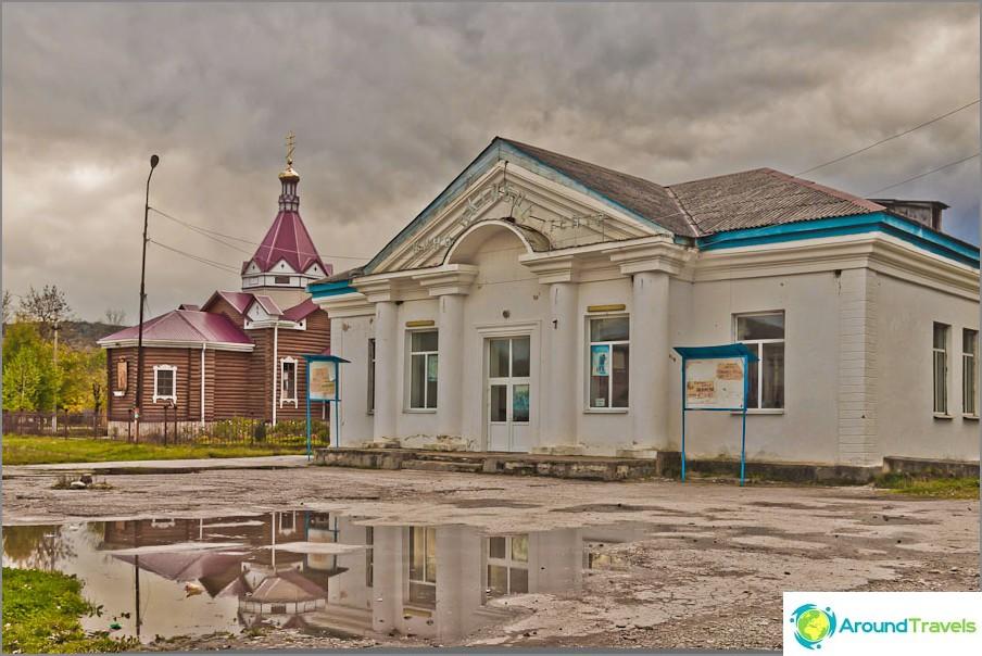 Elokuvateatteri rajoittuu kirkkoon