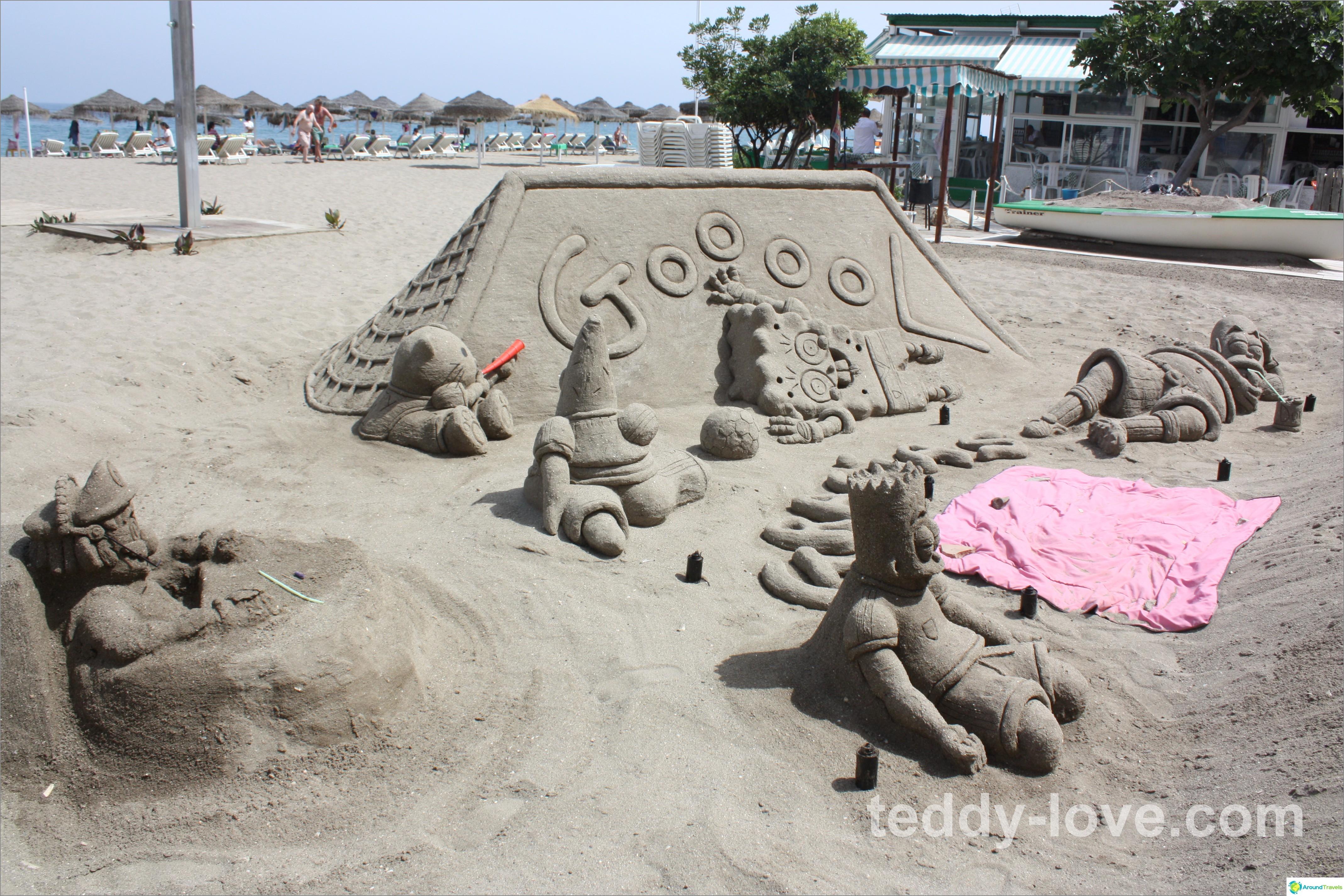Lisää tungosta rantaa turisteille!